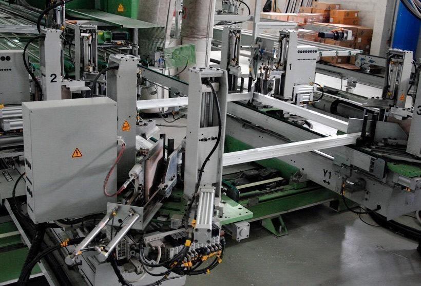 Система автоматизации линии сборки оконных рам