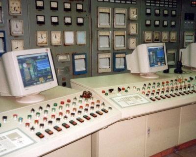 Автоматизация трех котлов БКЗ-75-39