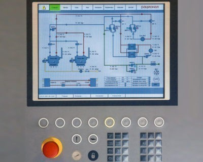 Система диспетчеризации котельной и производства