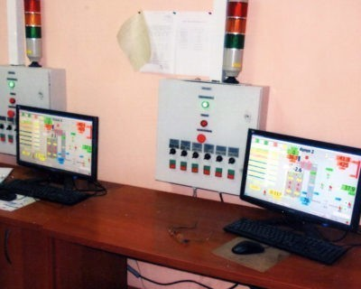 Автоматизация двух котлов БМ-35