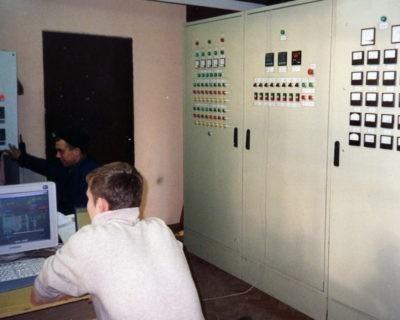 Автоматизация котла Е-16-39-360-Д со сжиганием лузги