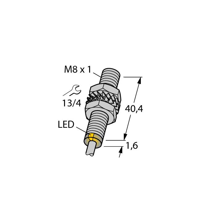 Датчик BI2-EG08-AG41X