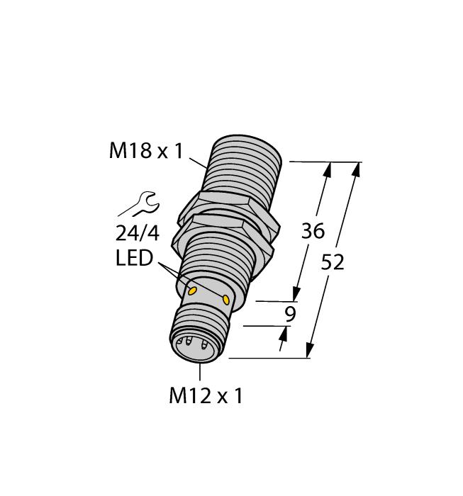 Датчик BI8-M18-AP6X-H1141