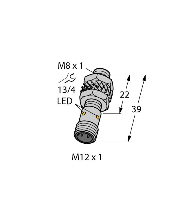 Датчик BI2-EG08K-VN6X-H1341