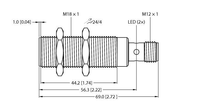 BI8-M18-2APS8X2-H1141