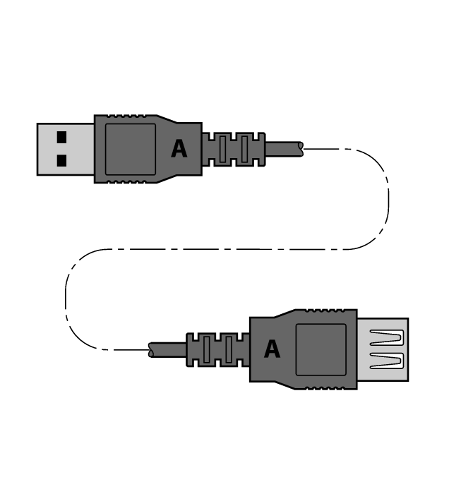 USB 2.0 EXTENSION 5M