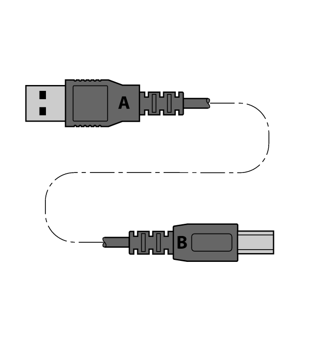 USB 2.0 CABLE 1.8M