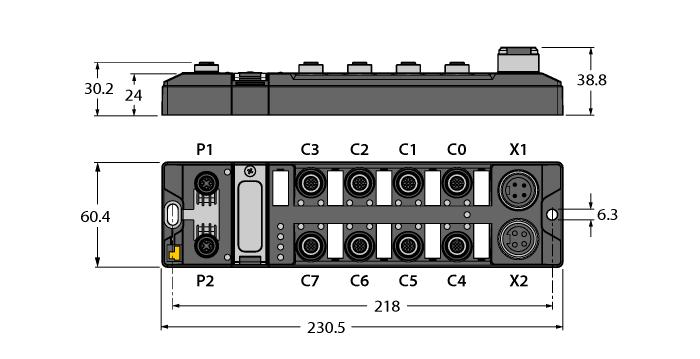 TBEN-L4-4RFID-8DXP
