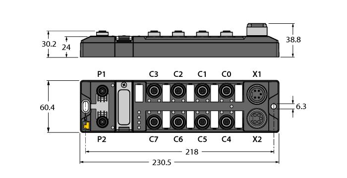TBEN-L5-4RFID-8DXP