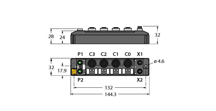 TBEN-S2-2RFID-4DXP
