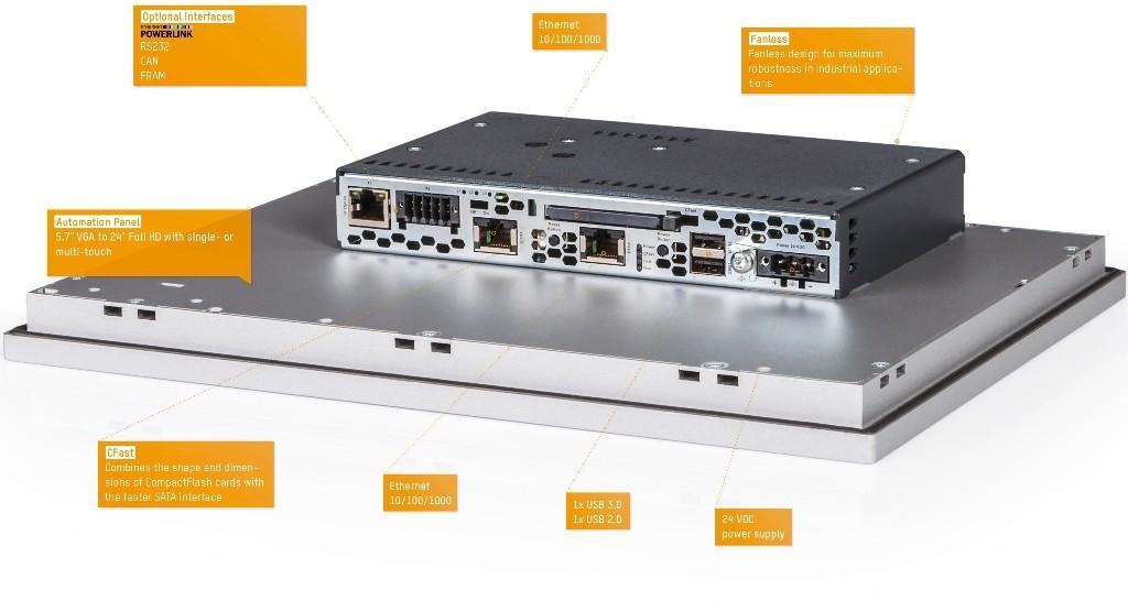 Panel PC 2100 (сингл-тач)