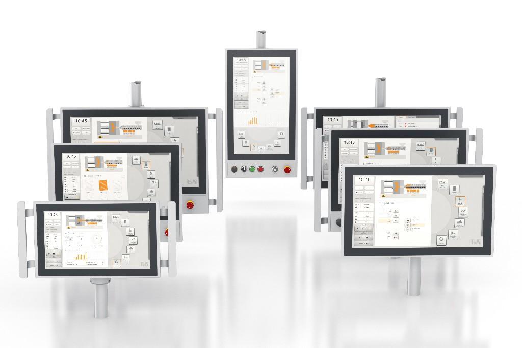 Panel PC 2100 (AP5000) swing arm, multi-touch