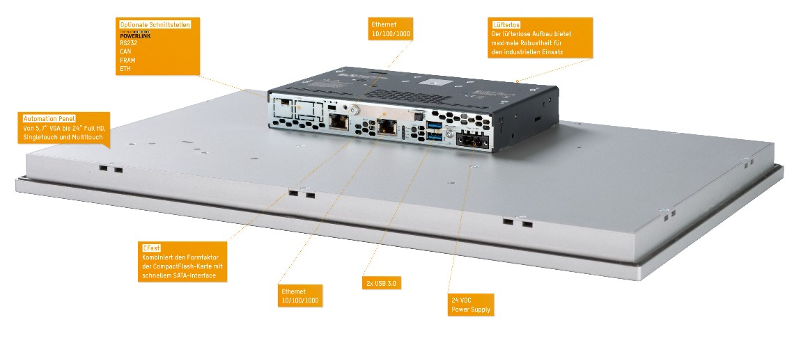 Panel PC 2200 multi-touch