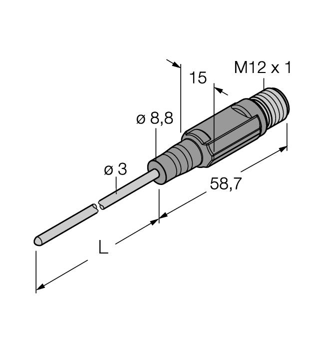 TTM150C-203A-CF-LI6-H1140-L100-50/150°C